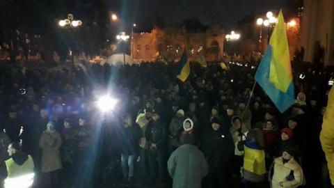 Очевидец: Саакашвили окапыва…