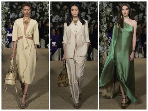 Нью-Йорк: Ralph Lauren весна…