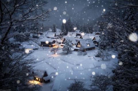 Снежная сказка: невероятно к…