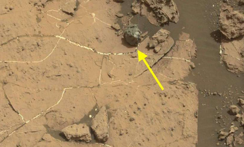 На Марсе обнаружена сфера пришельцев