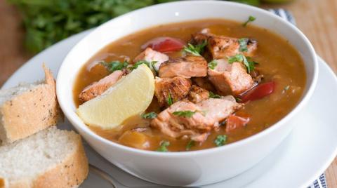 Рыбный суп по-гречески: реце…