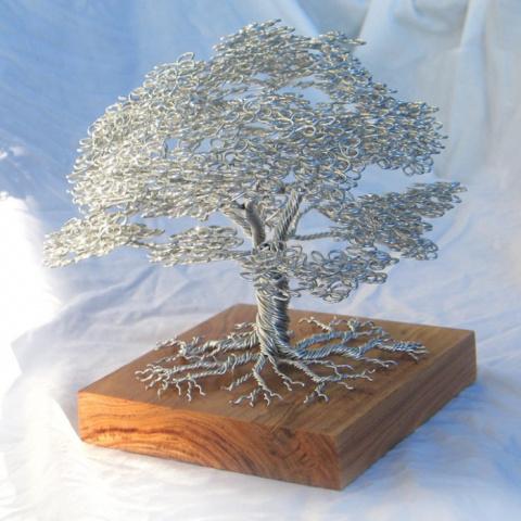Проволочные деревья Клайва Мэддисона