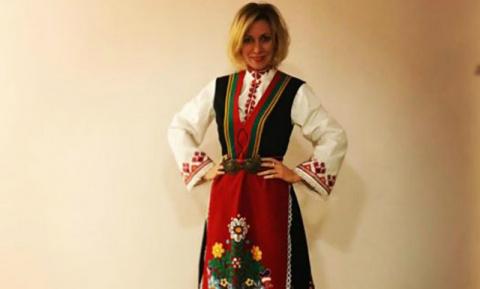 Мария Захарова в национально…