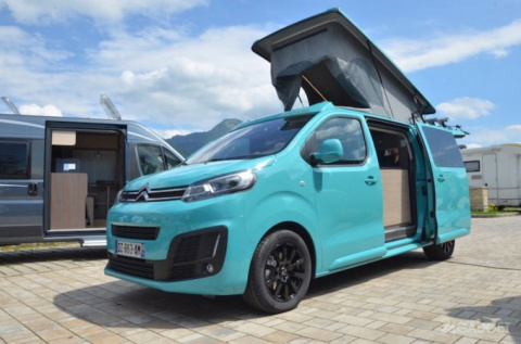Citroen создал фургон для путешествий