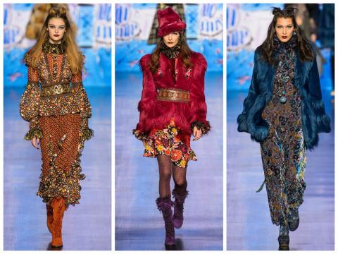 Нью-Йорк: Anna Sui осень-зим…