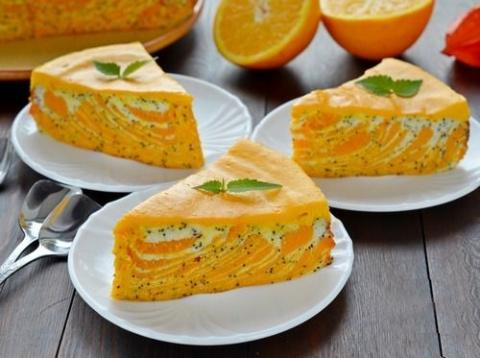 Самый актуальный осенний десерт: нежная творожная запеканка с тыквой
