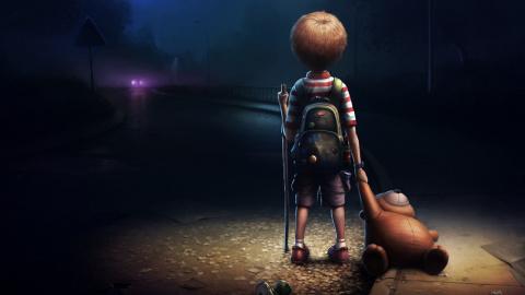 Малыш. грустная сказка о конце света