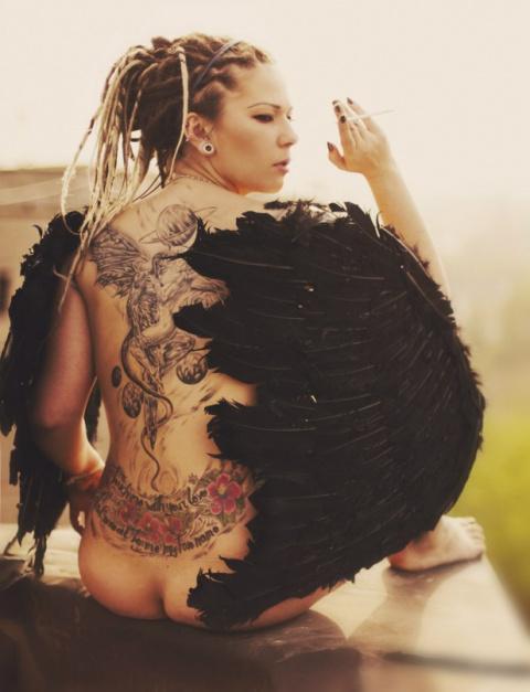 Сексуальные татуировки...или не сексуальные?+18