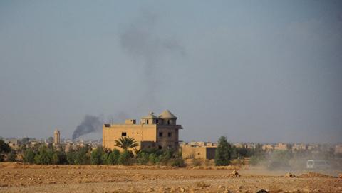 Российские военные опровергли информацию о сдаче города Аль-Букемаль