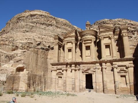 История города Петра в Иордании