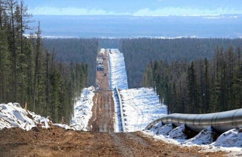 Из России в Китай: «Сила Сибири» строится с опережением графика
