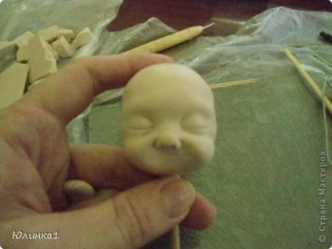 Создание малышей из полимерной глины. Мастер класс