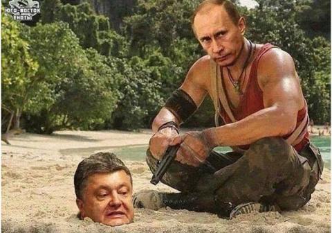 Изящный посыл Путина и Полярная звезда Порошенко