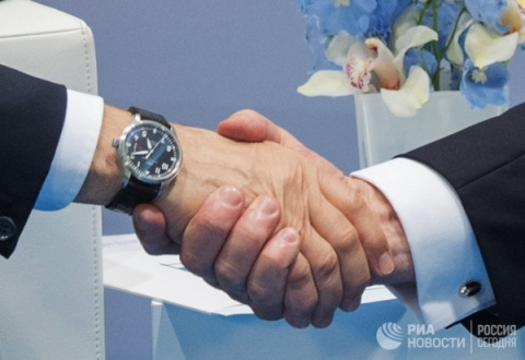Встреча Путина с Трампом: ре…