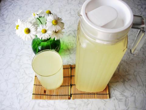 Квас (Имбирно-лимонный)