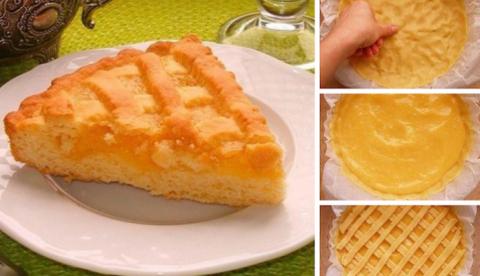Песочный лимонный пирог: Каж…