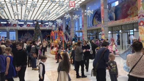 Дети высланных из США дипломатов посетили кремлёвскую ёлку