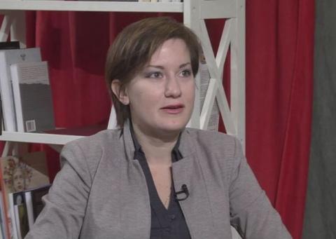Журналистка из России Макаре…