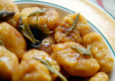 Рецепты по четвергам. Клёцки, ньокки, галушки, вареники. Галушки (2)