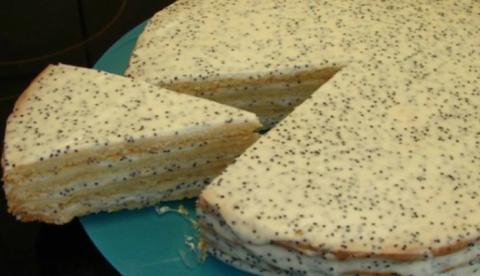 Сметанный торт «Воскресные посиделки». Рецепт из Детства!