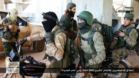 Наступление в Алеппо захлебн…