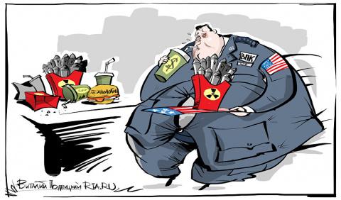 Песков напомнил о разнице ядерного потенциала России и США