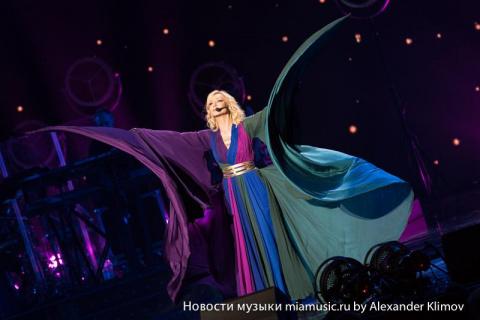 Концерт Кристины Орбакайте в Кремле