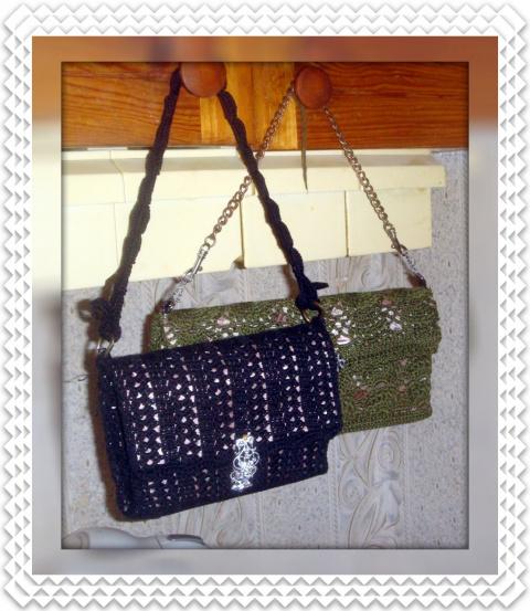 Как связать сумочку-клатч крючком