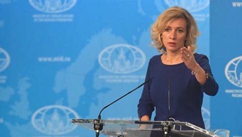 Захарова назвала срыв флагов над дипобъектами РФ в США надругательством над госсимволом