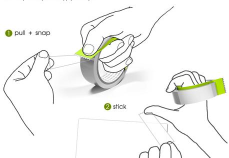 Червячок (Tapeworm) для скотча