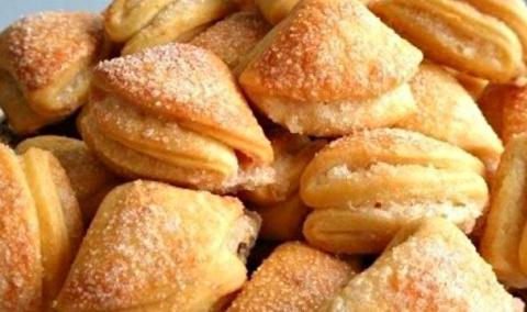 Творожное печенье «Гусиные л…