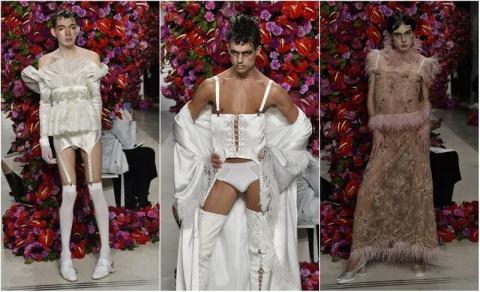 Я думала что в мужской моде уже видела ВСЁ!) Ан нет! Что-то меня реально пробило на ржач, глядя на ЭТО!
