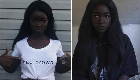 Черная Лолита: Девушка с необычно темной кожей становится звездой Инстаграма