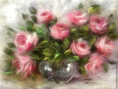 Шерстяные картины петербургской художницы