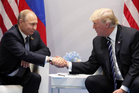 Встреча Путина и Трампа всел…