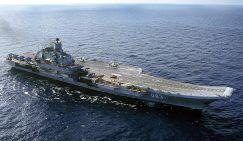 «Адмирал Кузнецов» перед Сир…