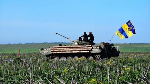 Донбасс: штаб АТО заявил о р…
