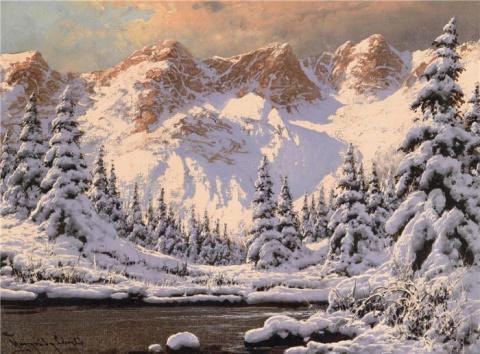 Зимние пейзажи художника LAS…