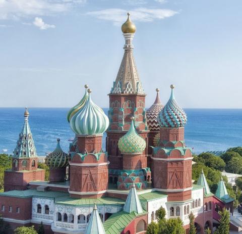 Московский Кремль нашли в Ту…