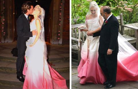 Как знаменитые невесты задаю…