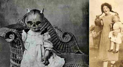 Винтажные костюмы на Хеллоуи…