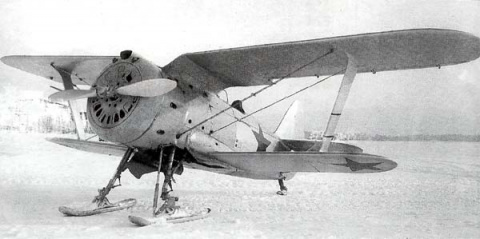 Серийный И-153 с мотором М-63
