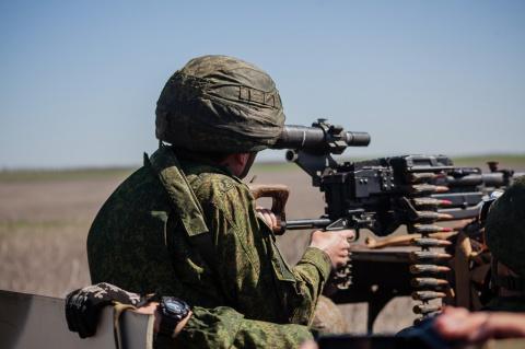 В ДНР прошли учения по обороне и наступлению