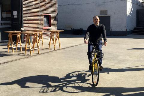 В Москве может появиться бесстанционный велопрокат