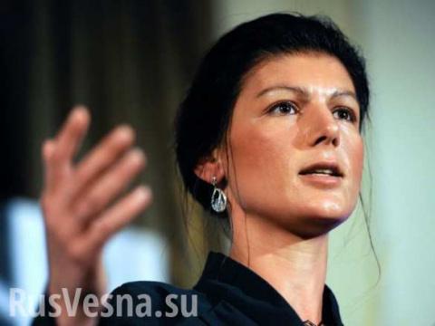 Сара Вагенкнехт обвиняет Германию в усилении терроризма
