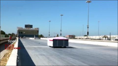 Самая быстрая в мире кровать-рекордсменка