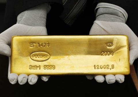 Золотой запас России на нача…