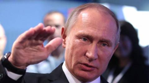 Путин прибыл на базу Хмеймим…