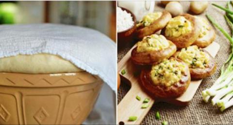 Бабулины ватрушки с картошко…