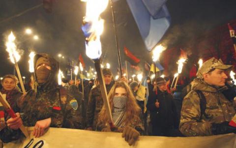 Дело SS на Украине живет и процветает